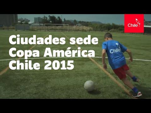 Ciudades sede Copa América Chile 2015