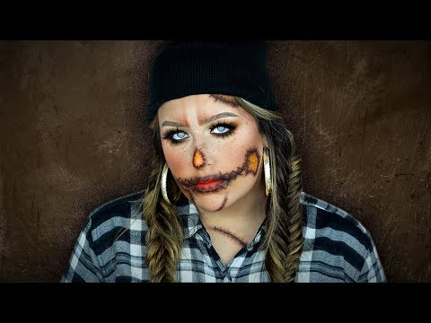 Glam Scarecrow Halloween Makeup Tutorial | 31 Days of Halloween