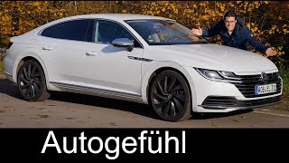VW Arteon FULL REVIEW Elegance 2018 new Volkswagen Flagship - Autogefühl