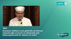 14.Bölüm - Ramazan İlmihali - Oruçlunun banyo yapması orucu bozar mı?