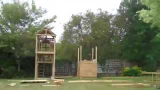 Play Equipment Installation Time Lapse - Home Front Commercial Playgrounds
