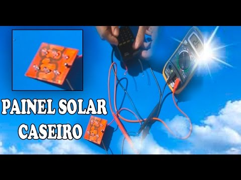 How to Make Homemade Solar Panel (XPROJETOS CHANNEL) - YouTube