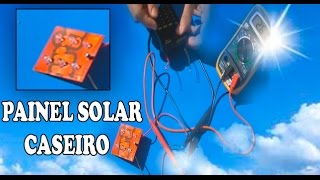Como Fazer Painel Solar Caseiro