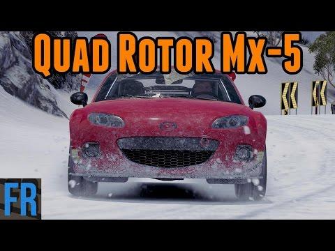 Hill Climb Monsters - Quad Rotor Mazda Mx-5
