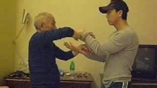 葉準師傅傳授甄子丹詠春黐手