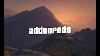 how to install addon peds 3.0.1 on gta 5 full tutorial