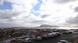 Solar eclipse 20/3-2015 - Timelapse video of Tórshavn