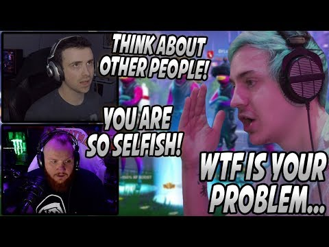 Ninja Gets UPSET & ENDS His Stream After DrLupo & Tim TEAM UP On Him! (Refuses To Play Anymore)