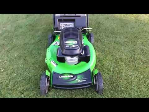 Lawnboy powered by Honda Lawn mower review