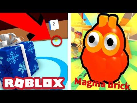 SECRET IN THE WINTER AREA & MAGMA BRICK PET!   Roblox Ice Cream Simulator