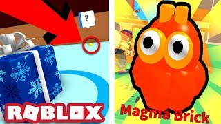 SECRET IN THE WINTER AREA & MAGMA BRICK PET! | Roblox Ice Cream Simulator