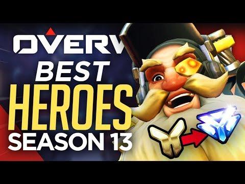 Overwatch Season 13 BEST 7 HEROES! (Overwatch Guide)
