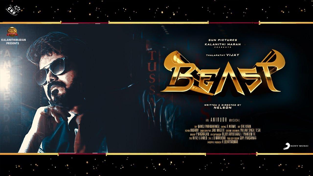 Beast Promo – Massive Third Look Poster   Vijay Pooja Hegde Dance Rehearsal Video   Nelson   Aniruth