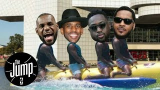 Could There Be A Banana Boat Reunion? | The Jump | ESPN