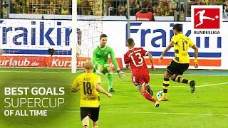 Top 10 Best Goals Supercup All Time - Sancho, Lewandowski \u0026 Co.