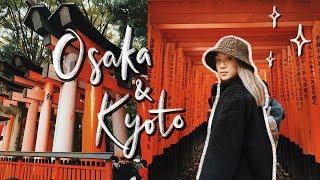JAPAN ADVENTURES! | Osaka & Kyoto Travel Vlog (Pt.2)