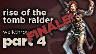 Rise of the Tomb Raider -  Full Walkthrough - Part 4 - peerluk