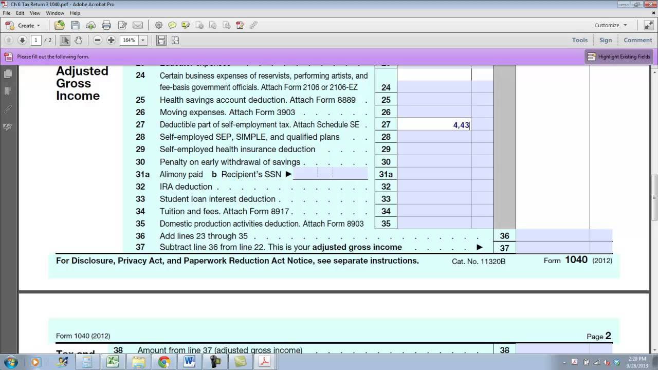 Tax return with self employment income youtube tax return with self employment income falaconquin