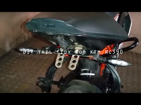 Kawasaki Ninja R Homemade Fender Eliminator