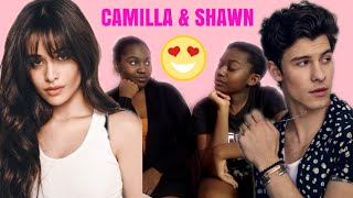 REACTION TO SHAWN MENDES , CAMILLA CABELLO-SENORITA