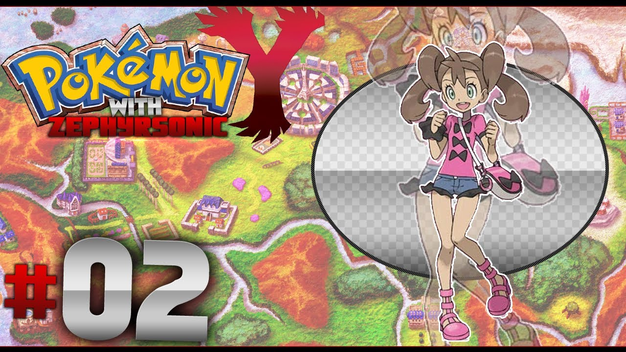 Pokémon X and Y 3DS ROM Download Shauna First Battle - YouTube