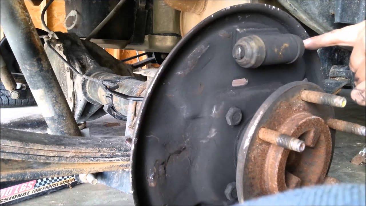 2007 chevy colorado lt rear brakes pt 2 of 3
