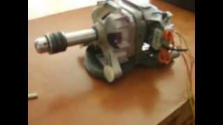 Como aprovechar un motor en deshuso de una lavadora secadora