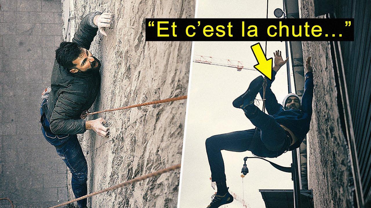 GRIMPER EN FALAISE DANS PARIS ?! C'est possible ! GRIMPE URBAINE EP10