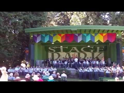 4xlouie - 2015.08.07 - Air Cadet Band - Beacon Hill Park (Encore)