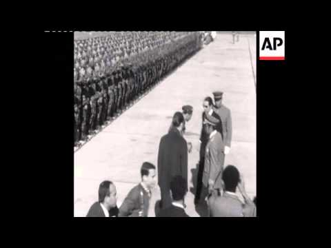 SYND 12-1-69 ALGERIAN PRESIDENT HOUARI BOUMEDIENNE VISITS MOROCCAO
