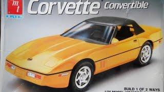 model kit review amt corvette convertible 09 11 14