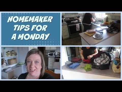 Homemaker Tips For A Monday - Vlogust Day 14