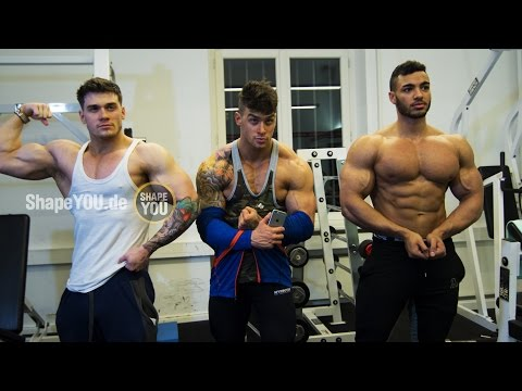 Hit the Shoulders - Hangover Workout with Harrison Twins & Justin St Paul
