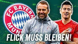 Warum der FC Bayern Hansi Flick halten muss!
