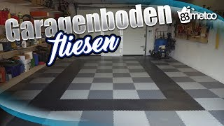 garageboden verlegen mit pvc fliesen. Black Bedroom Furniture Sets. Home Design Ideas