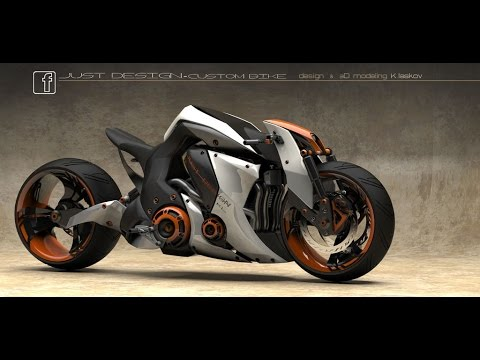 Best Unique Design Concept Bikes - 16 Coolest & Sexiest Concept Motorcycles Was Made Till Now 2017