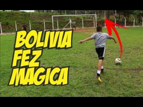 BOLIVIA FAZ MAGICA NO TIRO LIVRE (Desafios de Futebol)