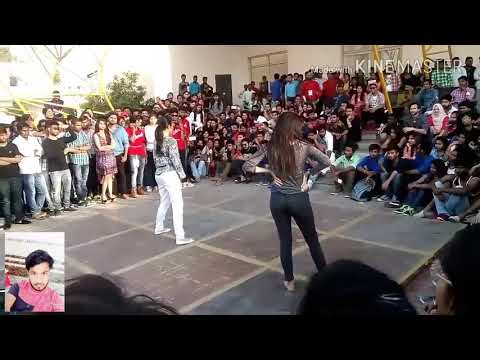 Delhi hot girls dance competition iit collage  . By kailash