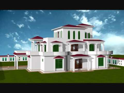 Ramzan sons house chechian mirpur ak pakistan youtube for Modern house designs in kashmir