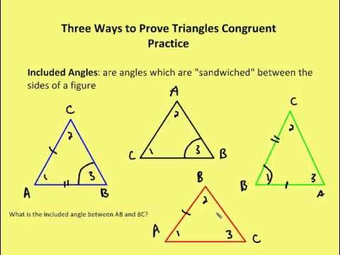 3 2 Three Ways To Prove Triangles Congruent Lesson