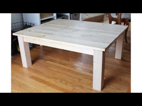 Enchanting Your Guests With Diy Farmhouse Coffee Table