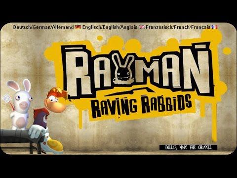 Rayman Raving Rabbids - Прохождение #1 (Ностальгия)
