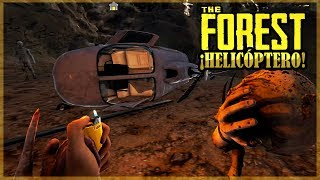 ENCONTRAMOS EL HELICOPTERO PERDIDO  - THE FOREST #17