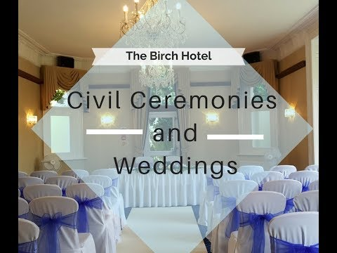 Weddings at The Birch Hotel
