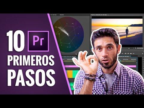 10 PRIMEROS PASOS para EDITAR con ADOBE PREMIERE CC