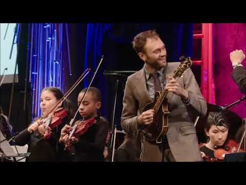 """Chris Thile And Harmony Program Fiddlers - """"Johnny's Hoedown"""" From Johnny Appleseed Suite"""