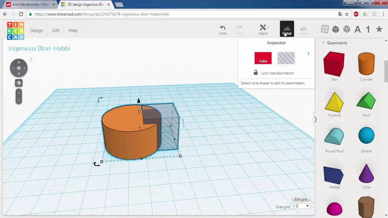 how to make threads in tinkercad
