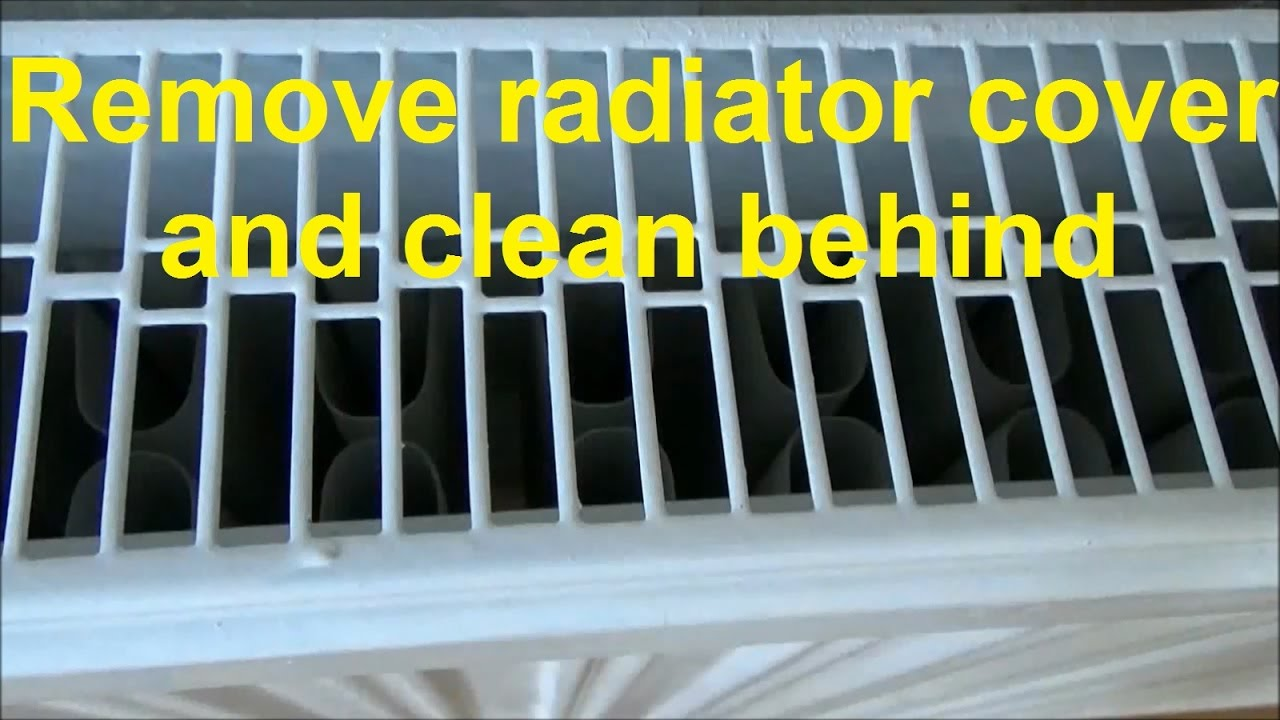 How to remove the radiator heater 62