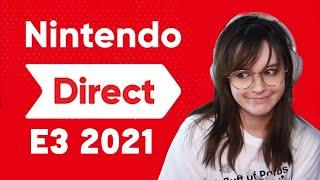 Nintendo Direct E3 2021 REACTION ⭐ Zelda BOTW 2, NEW Metroid and more