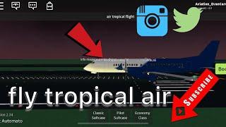 Volar aire tropical ROBLOX